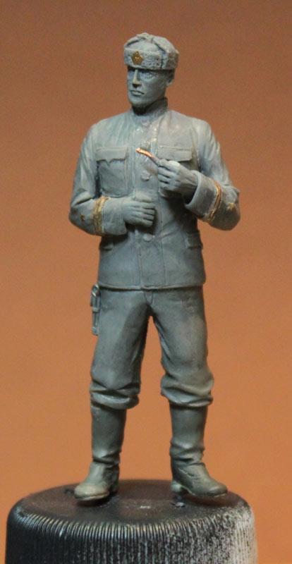 Sculpture: Lieutenant commander, USSR, 1939-43, photo #1