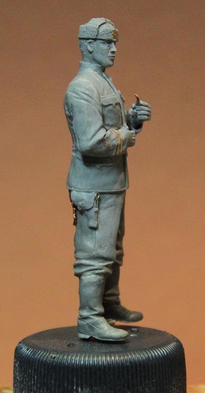 Sculpture: Lieutenant commander, USSR, 1939-43, photo #7