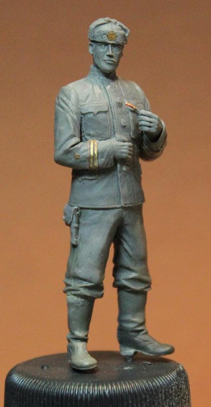 Sculpture: Lieutenant commander, USSR, 1939-43, photo #8