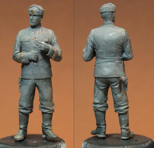 Sculpture: Lieutenant commander, USSR, 1939-43