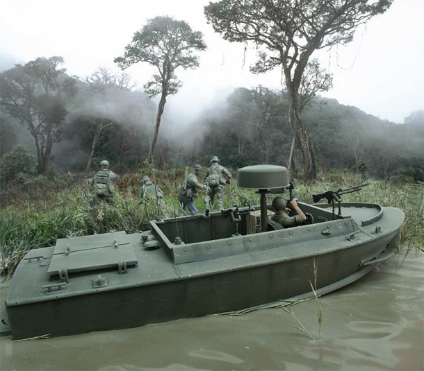 Dioramas and Vignettes: Navy SEAL from Bravo