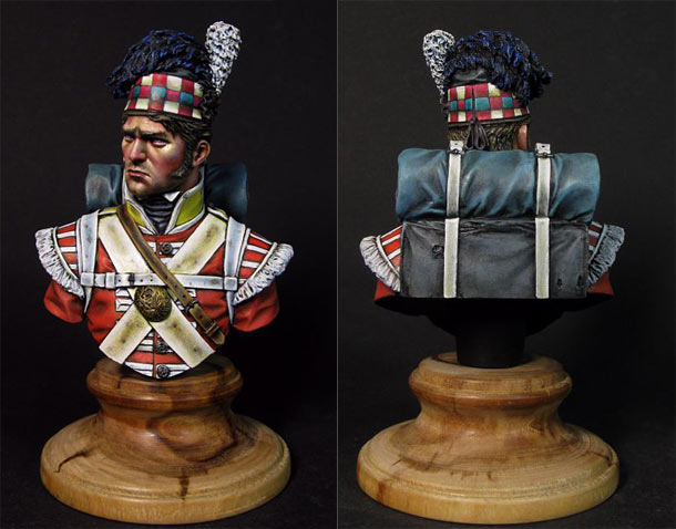 Figures: The 92nd Gordon Highlanders, Waterloo, 1815