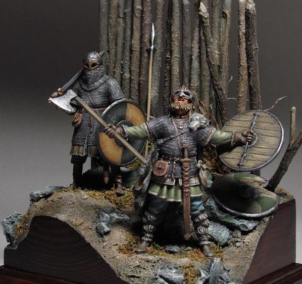 Figures: Wolves of Odin