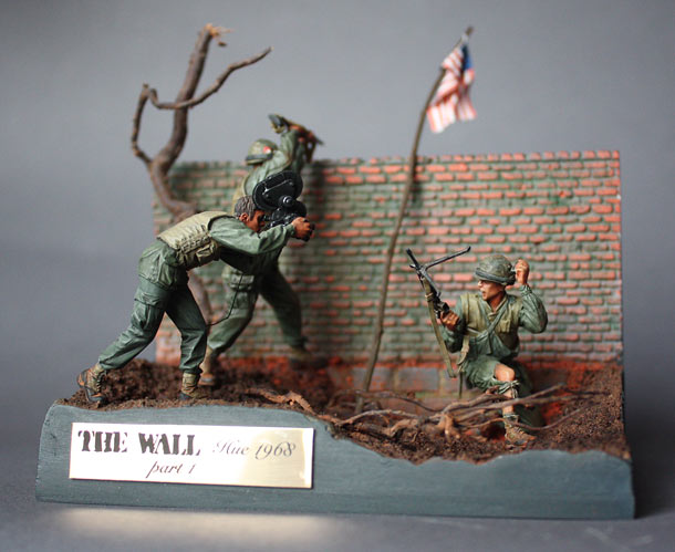 Dioramas and Vignettes: The Wall. Part 1