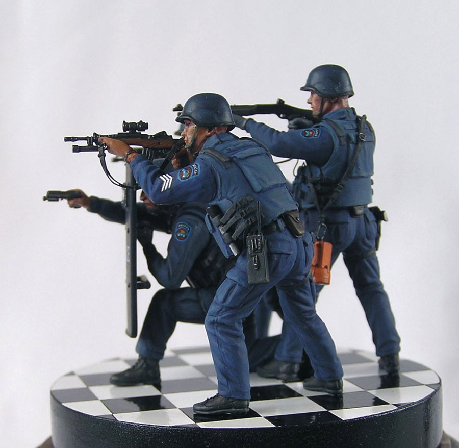 Dioramas and Vignettes: NYPD ESU. Advertising photo, photo #5