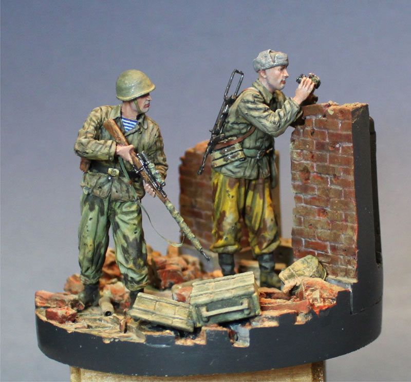 Dioramas and Vignettes: The hunt has begun. Stalingrad, 1942, photo #1