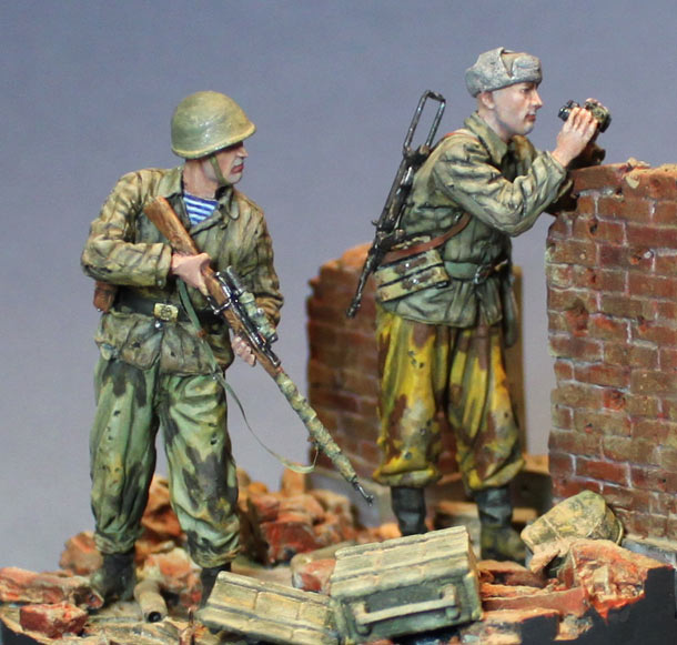Dioramas and Vignettes: The hunt has begun. Stalingrad, 1942