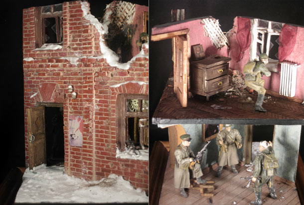 Dioramas and Vignettes: Frozen days