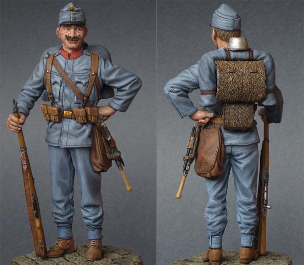 Figures: Austrian infantryman, 1914