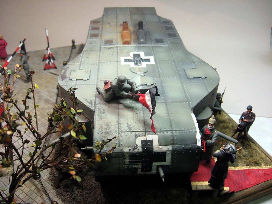Dioramas and Vignettes: Panzerwaffe-1919, photo #4
