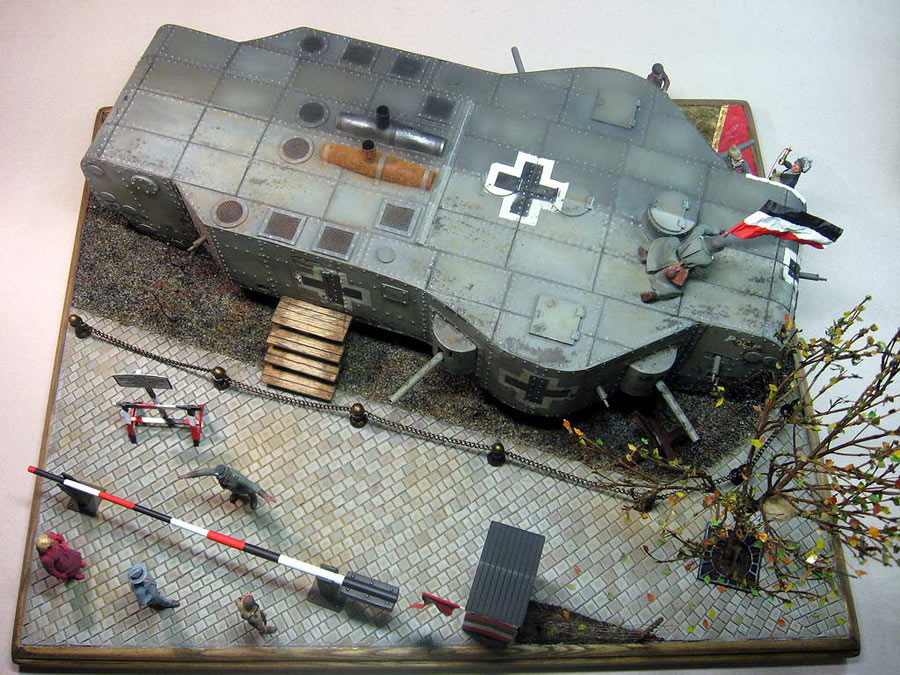 Dioramas and Vignettes: Panzerwaffe-1919, photo #8