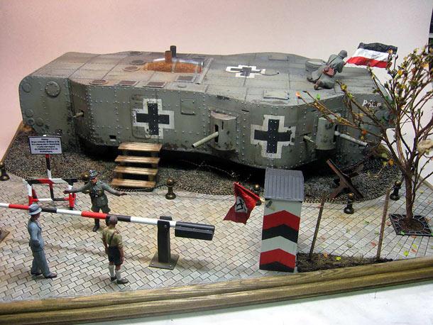 Dioramas and Vignettes: Panzerwaffe-1919