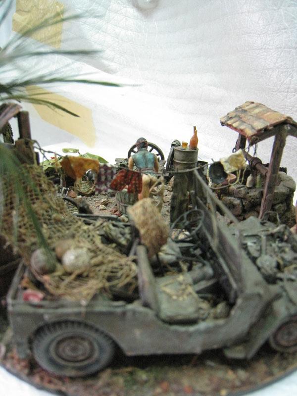 Dioramas and Vignettes: Saturday Bath, Vietnam, photo #11