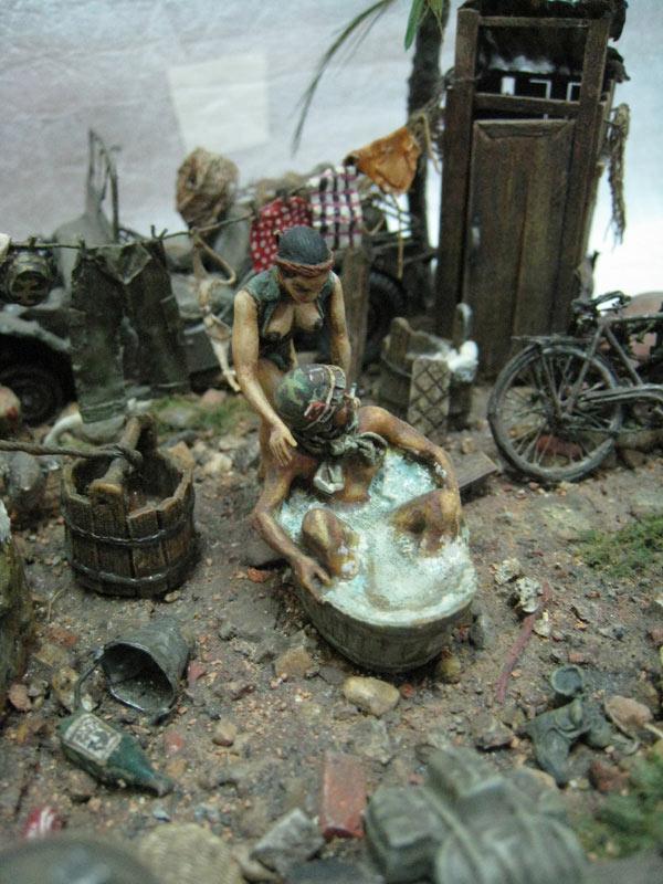 Dioramas and Vignettes: Saturday Bath, Vietnam, photo #3