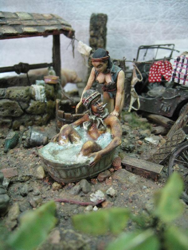 Dioramas and Vignettes: Saturday Bath, Vietnam, photo #4