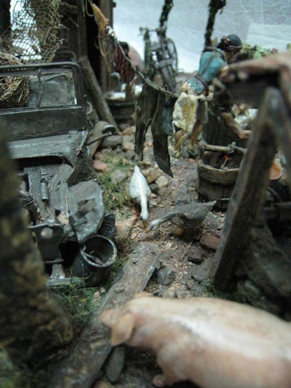 Dioramas and Vignettes: Saturday Bath, Vietnam, photo #7