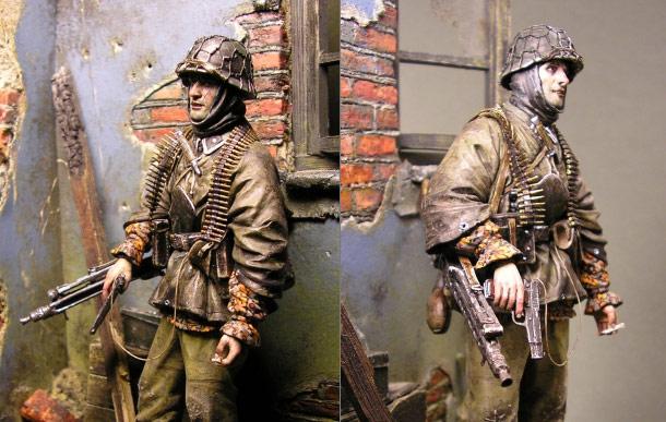 Dioramas and Vignettes: SS Unterscharfuehrer