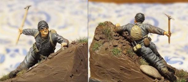 Figures: Soviet mountain trooper