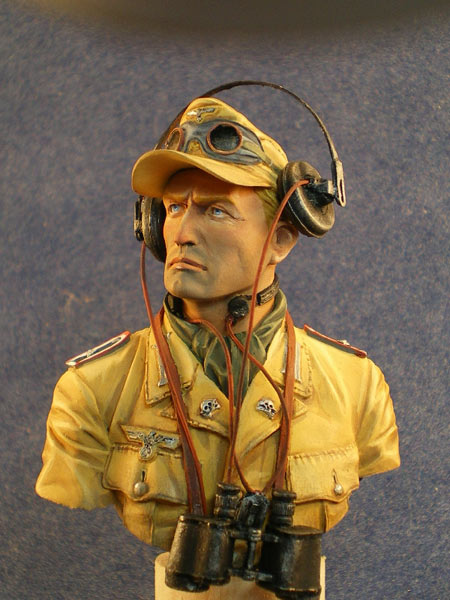Figures: DAK panzer officer, photo #2