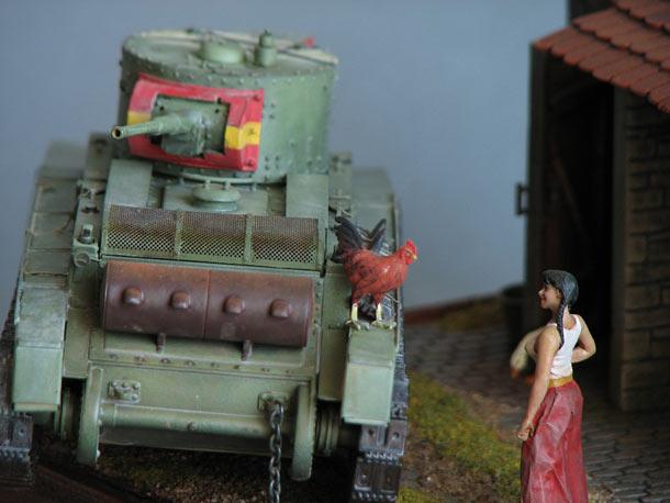 Dioramas and Vignettes: Carmen and Gallo