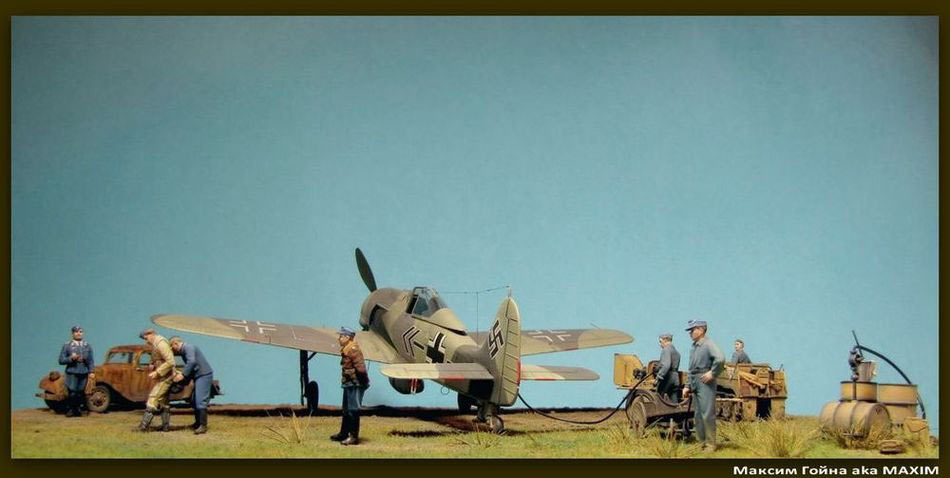 Dioramas and Vignettes: Before the take-off, photo #3