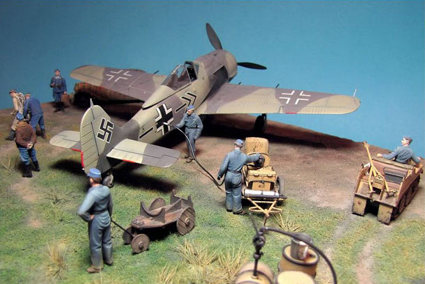 Dioramas and Vignettes: Before the take-off