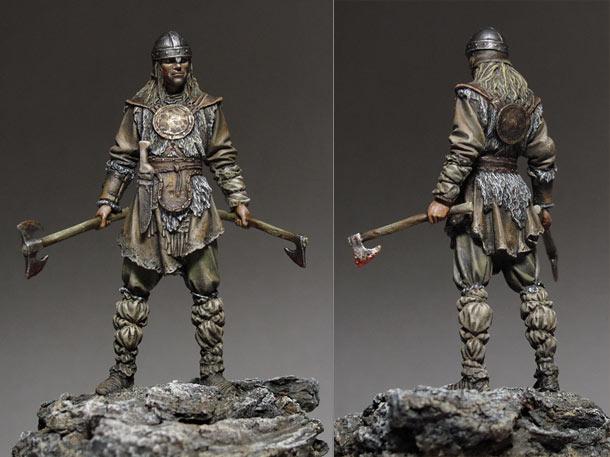 Figures: Saxon warrior