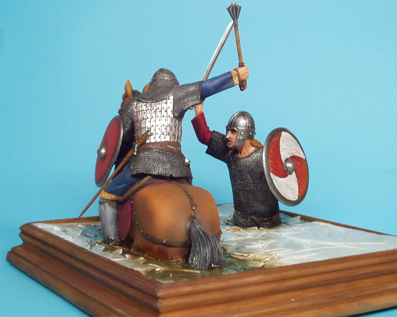 Dioramas and Vignettes: Vikings Duel, photo #1