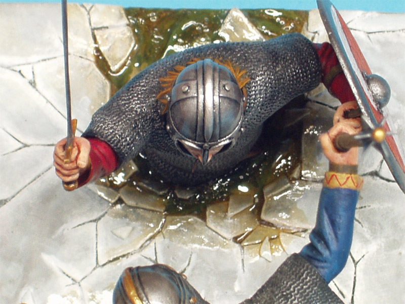 Dioramas and Vignettes: Vikings Duel, photo #12