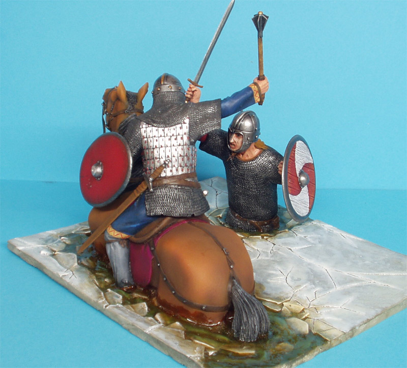 Dioramas and Vignettes: Vikings Duel, photo #2