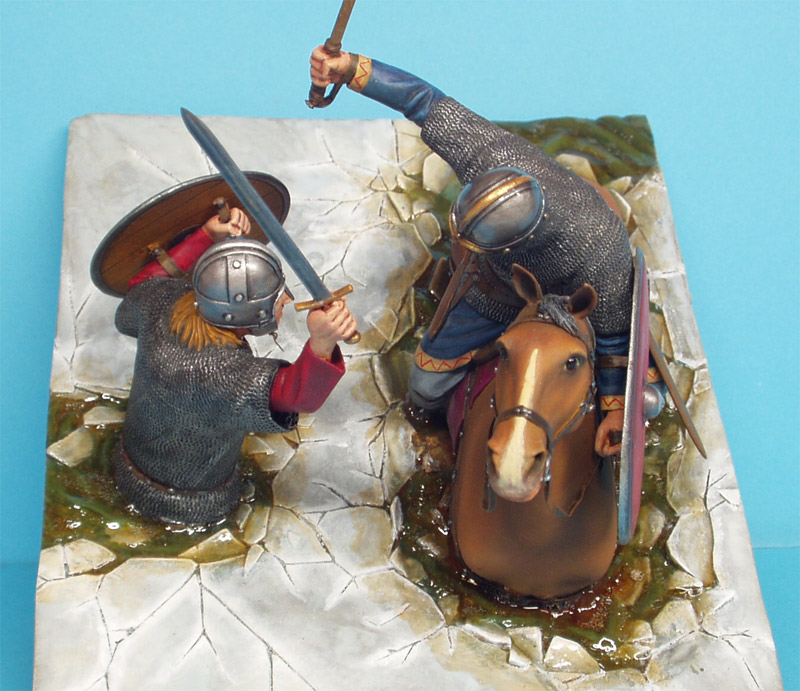 Dioramas and Vignettes: Vikings Duel, photo #4