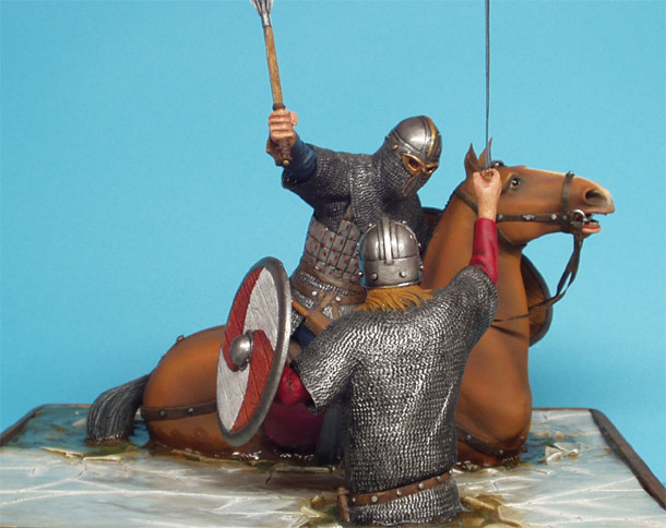 Dioramas and Vignettes: Vikings Duel