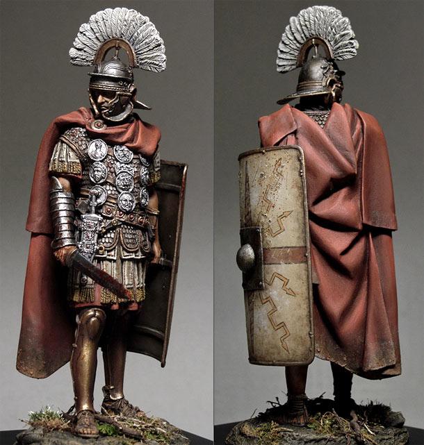 Figures: Roman centurion (I cent. A.D.)