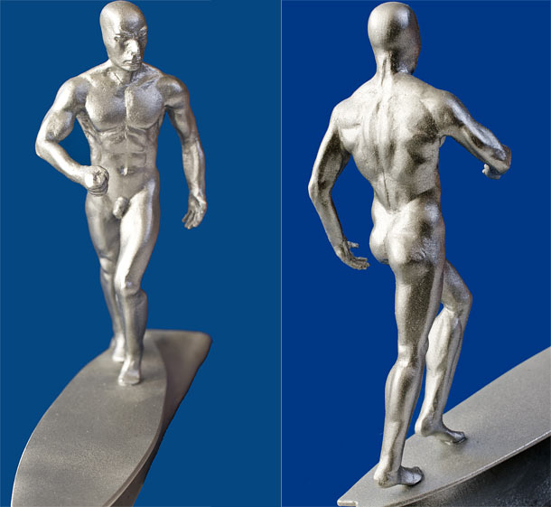 Sculpture: Silver Surfer