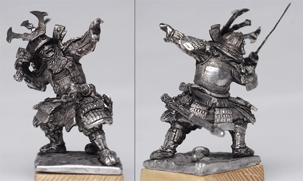 Sculpture: Samurai, XV-XVI cent.