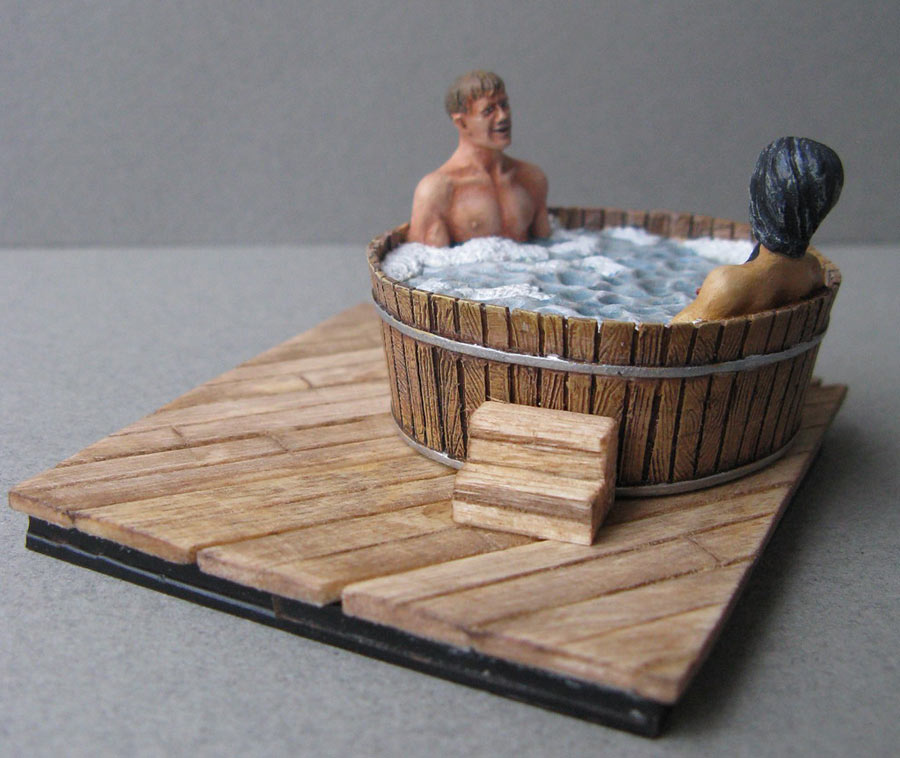 Dioramas and Vignettes: Ofuro, photo #4