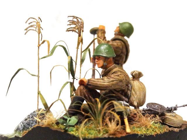 Dioramas and Vignettes: Soviet machine gunners., photo #10