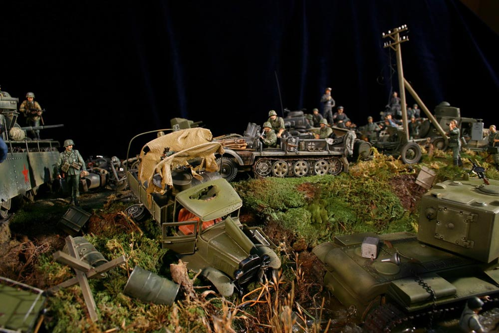 Dioramas and Vignettes: Blitzkrieg, photo #8