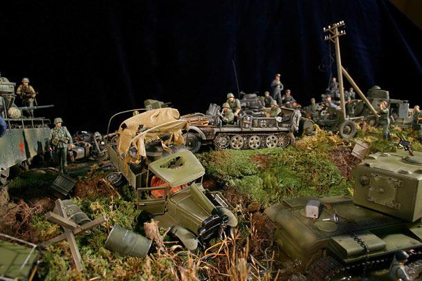 Dioramas and Vignettes: Blitzkrieg
