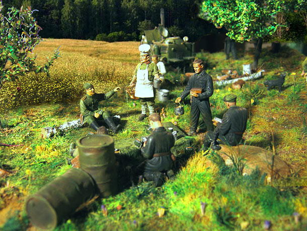 Dioramas and Vignettes: Field kitchen
