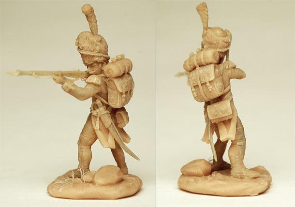 Sculpture: Napoleon's Guard. Foot grenadier, 1799-1815