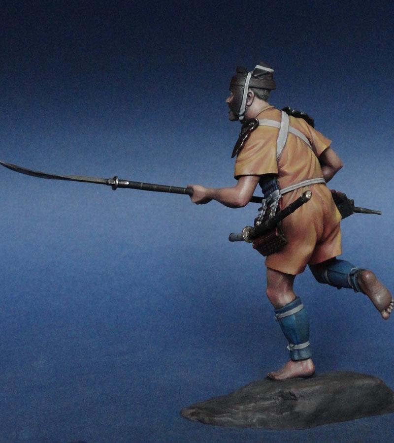 Figures: Ashigaru, XIII-XIV cent., photo #4