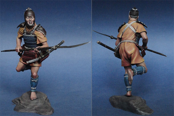 Figures: Ashigaru, XIII-XIV cent.
