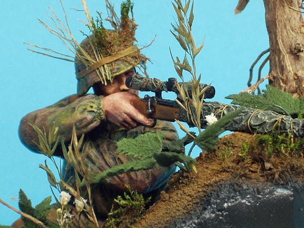 Dioramas and Vignettes: German Sniper