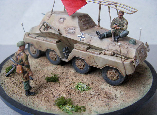 Dioramas and Vignettes: Service day