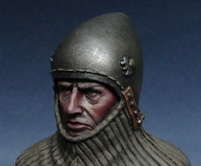 Figures: Italian knight, late XIV cent., photo #5