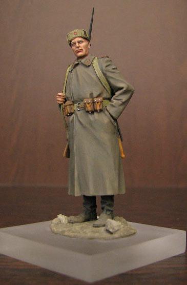 Figures: Soviet infantryman, photo #1