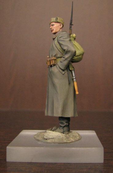 Figures: Soviet infantryman, photo #2