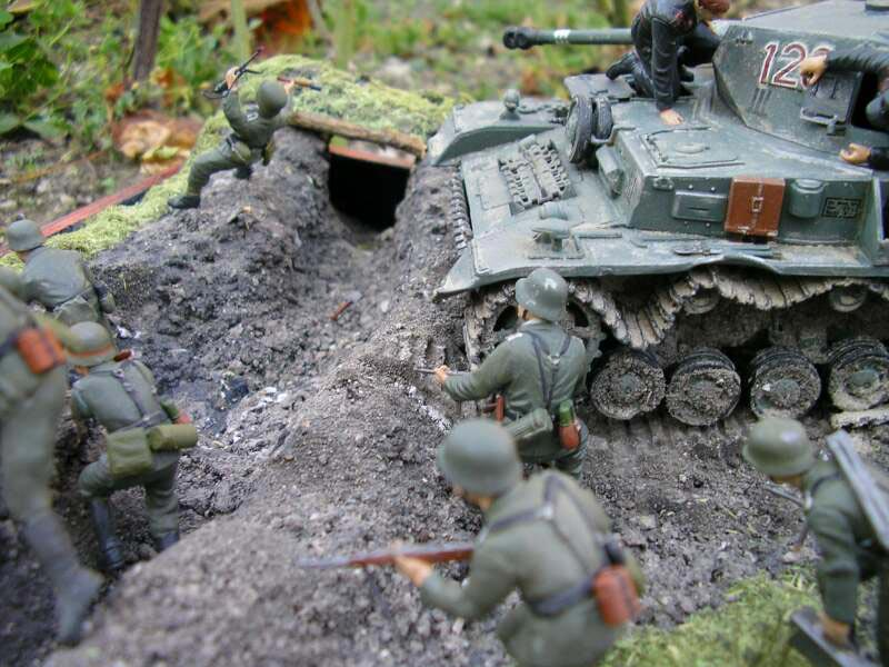 Dioramas and Vignettes: Attack to the Second Line, photo #12