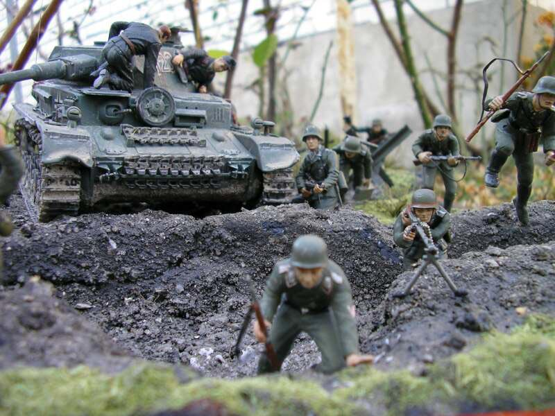 Dioramas and Vignettes: Attack to the Second Line, photo #3